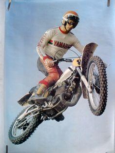 RARE YAMAHA MOTOCROSS 1978 VINTAGE ORIGINAL MOTORCYCLE POSTER   eBay