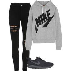 Got your own #Nike?   @snapmade #Custom #Hoody>https://goo.gl/4Z13ko #sport #sporty #casual #casualty #simple #grey #black #sneakers #hoodie #hoodies