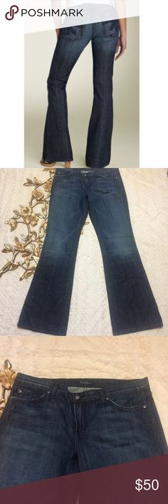 "NWT David Kahn Nikki K Pocket Stretch Bootcut NWT David Kahn Nikki K Pocket Stretch Jeans  Low Rise Bootcut Slight distressing details low-rise jeans with a sassy boot cut and signature embroidery on the back pockets. Zip fly with button closure. Five-pocket style. Approx. inseam: 35"". Approx. rise: front 9"", back 13 1/2"". Approx. leg opening: 21"". Expect these jeans to be snug initially. With wear, they will stretch and conform to your body. David Kahn Jeans Boot Cut"