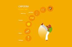 Capoeira vector set by Creativemaker on Creative Market