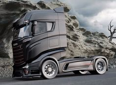 Bad ass Scania 1000 concept truck #scania #trucks #trucking
