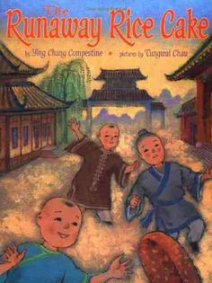 Runaway Rice Cake book by Ying Chang Compestine is a cute story for kids that takes place in Chinese New Year. There's a recipe for Nian Gao (rice cake) to go with the book. Chinese Sticky Rice, Gingerbread Man Story, Nian Gao, Year Of The Pig, Fiction And Nonfiction, Rice Cakes, Chinese Culture, Children's Literature, Chinese New Year