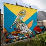 Tattoo inspiration. Murals of Animals and Insects on the Streets of Antwerp by 'Dzia'