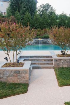 Lovely Stunning Outdoor Pool Landscaping Designs Inspirations #PoolLandscape