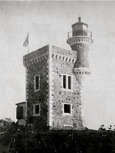 Antiguo Faro de Isla Culebra, ya Destruido,Puerto Rico.