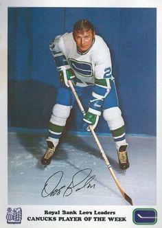 1972-73 Royal Bank Vancouver Canucks  NN1 Dave Balon Front f6e8a867e