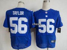 NFL Elite Jersey New York Giants 56 taylor blue Jersey
