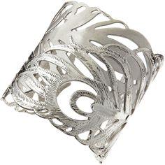 Neiman Marcus Jewelry KENDRA SCOTT  | Kendra Scott Salome Leaf Cuff, Rhodium $105.00 thestylecure.com