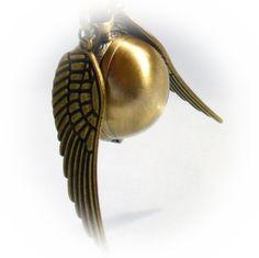 LEGENDARY FLYING  Golden Snitch WATCH by oldjunkyardboutique