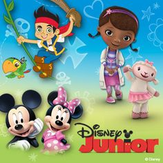 #Disney Junior toys & activities!