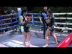 Lola (Tiger Muay Thai) vs Namwan (Sinbi Muay Thai) 17/1/17 - YouTube