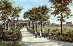 Pump Lane, Greasby, Wirral, 1903