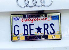 Go Bears - CAL Berkeley football team