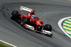 Fernando Alonso, Ferrari, Interlagos, 2012