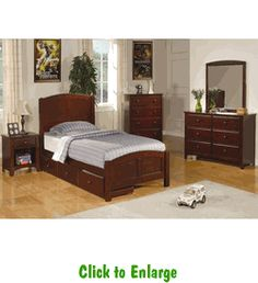 Parker Twin Bedroom Group By Coaster At Furniture Warehouse | The $399 Sofa  Store | Nashville