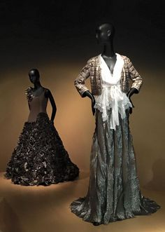 Karen Klein's team spent this afternoon at a stunning Oscar De La Renta exhibition at the De Young Museum, San Francisco. Must see! #karenkleinfashion #karenklein #oscardelarenta #deyoungmuseum #fashion #design #style