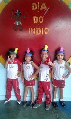 IBR realiza comemoração em homenagem ao Dia do Índio. #EuSouIBR #IBR35anos #EscolaCristã