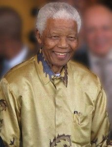Nelson Mandela, South Africa's first black president, dies at 95