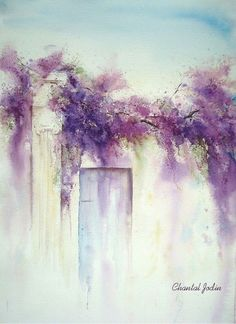 "dark-sapo-sun-yoa: "" !! Chantal Jodin WATERCOLOR  """