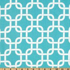 Premier Prints Twill Gotcha Girly Blue - Discount Designer Fabric - Fabric.com for edens room