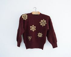 ESCADA Vintage Sweater // Made in West Germany // by Yugovicheva