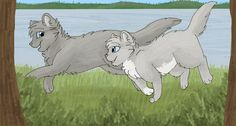 Graystripe and Silverstream Warrior cats
