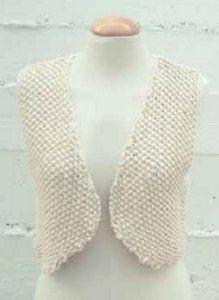 Eva Vest | AllFreeKnitting.com