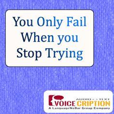 Voicecription Today's Quote.....  #Transcription