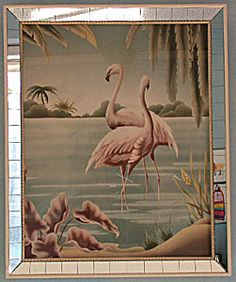 Turner Flamingo Prints.  We had this!!!  Then, in later years, my friend Tim collected these!