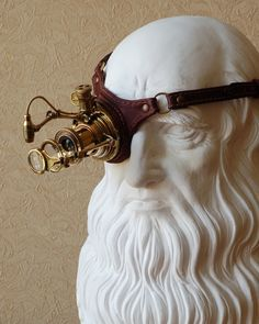 spectacular steampunk monocle