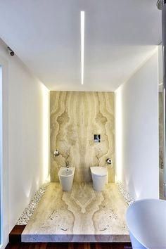 Cozy Wooden Bathroom Designs