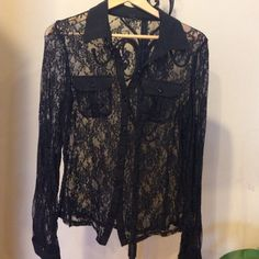 reduced  top Top . Size L . Used  excellent condition. Color black . Open to any reasonable offer  Lapis Tops Blouses