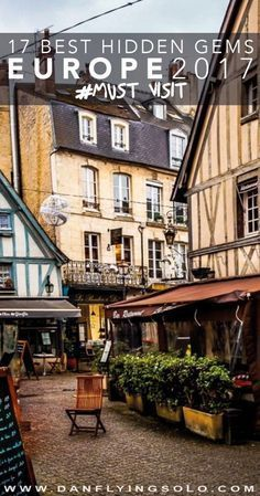 The best 18 hidden Europe gems to travel to in 2018 Caen, France – – The 17 Best Hidden Places to visit in Europe in 2017 Backpacking Europe, Europe Travel Tips, Places To Travel, Places To Visit, Europe Europe, Travel Hacks, Europe Must See, Europe Places, Europe Street