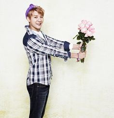 Junsu Baby Flower ❤️ JYJ Hearts