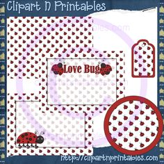 Love Bugs Red Paint Can Set Semi-Exclusive