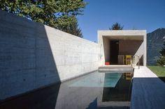 Natural Baths, Luigi Snozzi, Duggan Morris, Studio Mumbai, Outside Pool, Concrete, Swimming Pools, Images, Mansions