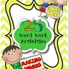 25 word work activities...Easy to set up and fun for your kiddos. Definitely fits right in with the Daily Five!