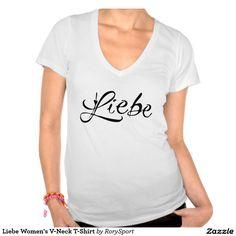 Liebe Women's V-Neck T-Shirt