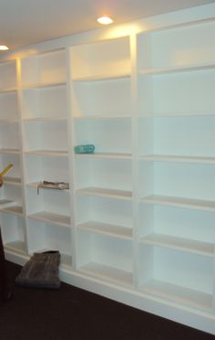 existing shelves
