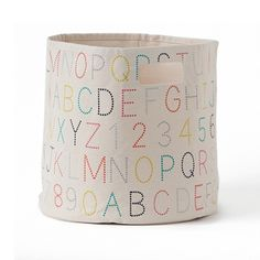 Alphabet Bins Set of 2 by Pehr