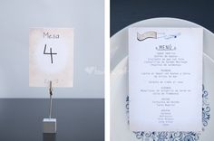 Las minutas de la boda