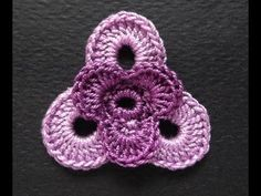 how to crochet irish crochet flower tutorial free pattern