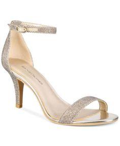 Bandolino Madia Dress Sandals Gold High Heel Sandals 375db183ce64