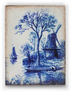 "Sid Dickens Memory Block Delft Blue T314 ""This unmistakable blue, Sought after the world over."""