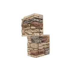 GenStone Stacked Stone Kenai 12 in. x 42 in. Faux Stone Siding Panel-G2SSKIHP - The Home Depot Stone Siding Panels, Faux Stone Siding, Stone Veneer Panels, Stacked Stone Panels, Faux Stone Panels, Home Depot, Faux Stone Veneer, Column Wrap, Dry Stack Stone