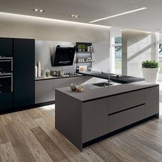 Modern Luxury Kitchens For A Grand Kitchen Kitchen Room Design, Luxury Kitchen Design, Luxury Kitchens, Home Decor Kitchen, Kitchen Interior, Home Kitchens, Grand Kitchen, Distressed Kitchen, Modern Kitchen Cabinets
