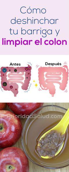 Cómo limpiar el colon y deshinchar la barriga rápidamente.