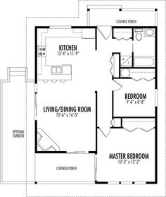 Small Mostly House Plans on 200 square foot house plans