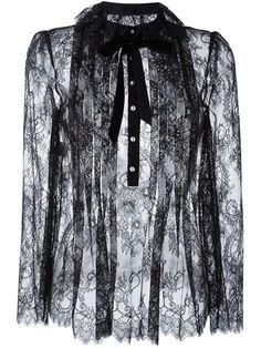PHILOSOPHY DI LORENZO SERAFINI 蕾丝罩衫. #philosophydilorenzoserafini #cloth #blouse
