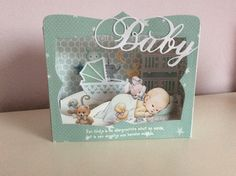 Diorama, Kids Cards, Baby Cards, Tunnel Book, Album Scrapbook, Birth Records, Romantic Cards, Baby Presents, Baby Box